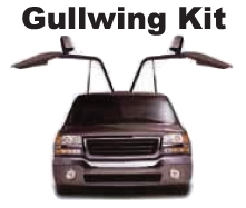 Gullwing Door Kit