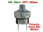 On off pressure switches