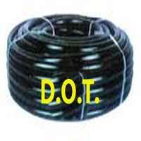 D.O.T. airlines reinforced, steel leader hose