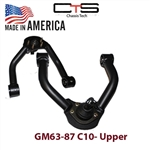 Upper and Lower control arms dropped