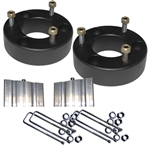 "Airbagit.com Lift TOYOTA TUNDRA-2.5"" 1999-2006 Front Leveling Kit Steel Spacers Block-B"