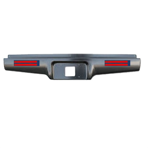 1982 To 1993 Chevrolet S10 S15 Rear Steel Rollpan With