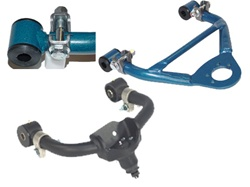 Lifted extended control arms
