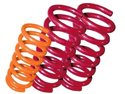 Lifted coil springs