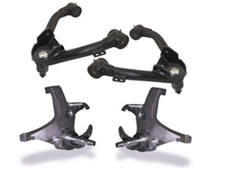 Lifted spindle suspension kits