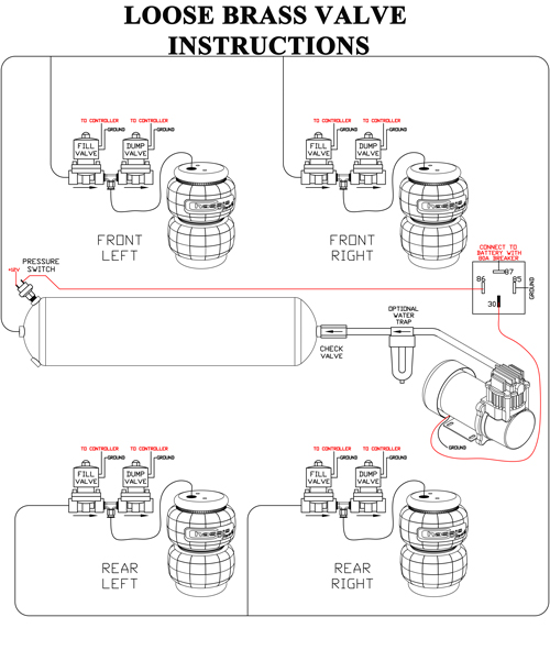 image016 compressor installation instructions~ airbagit com air ride wiring diagram at bayanpartner.co