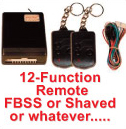 12 Function FBSS Remote
