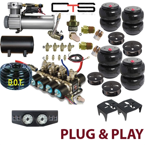 FBS-DOD-99-KIT3 Dodge Plug and Play FBSS Complete Air Suspension Kits