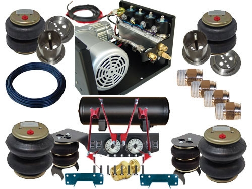 Fbs For 68 Kit5 Ford Plug And Play Fbss Complete Air Suspension Kits