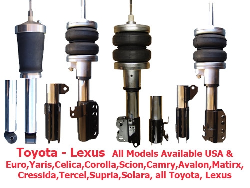 FBX-F-TOY-44 1989-1992 Toyota Cressida Front Air Suspension ride kit