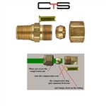"FIT-NPT-CROSS-CT6E6 CROSS FEMALE TEE 3//8/"" X3//8/"" X3//8/""x3//8/""-Air Fittings"