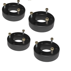"Airbagit.com Lift COLORADO CANYON 2""/2"" 2004-2012 Front/Rear Leveling Steel Spacers Shackles"
