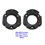 "J Lift SUBARU IMPREZA FORESTER OUTBACK 3"" 2002-2007 Rear Leveling Steel Spacers"