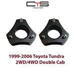 "Airbagit.com Lift TOYOTA TUNDRA-2"" 1999-2006 Front Leveling Kit Steel Spacers"
