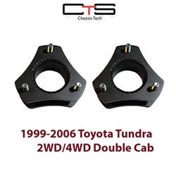 "Airbagit.com Lift TOYOTA TUNDRA-3"" 1999-2006 Front Leveling Kit Steel Spacers"