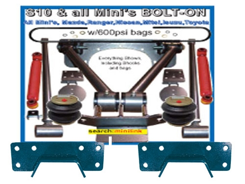 Chevy Bolton Triangulated 4 Link With Panhard/C-Notch Standard Cab and Crew  Cab Raw Click Instructions!
