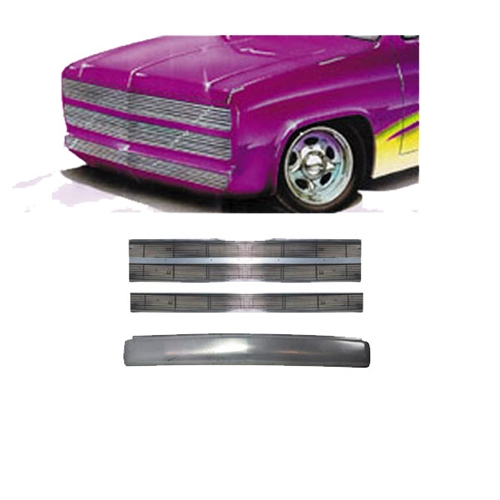 1962 to 1966 Chevrolet C10 C20 C30 Rear Steel FABRICATED Rollpan with Lic Left