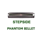 1980 to 1996 Ford F150 Fabricated  Rear Steel Rollpan Smoothy with Phantom Billet