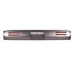 1980 to 1996 Ford F150 Fabricated  Rear Steel Rollpan License and 4 LEDs
