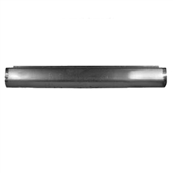 A 1980 to 1996 Ford F150 Fabricated  Rear Steel Rollpan Smoothy