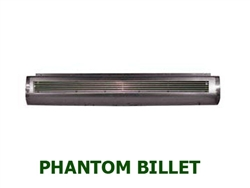A 1980 to 1996 Ford F150 Fabricated  Rear Steel Rollpan Smoothy with Phantom Billet
