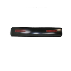 1999 to 2006 Chevrolet GMC C1500/2500/3500 Rear Steel Rollpan Smoothy with 4 LEDs