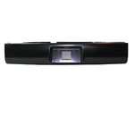 A 1994 to 2003 Chevrolet S10 S15 Rear Steel Rollpan with License