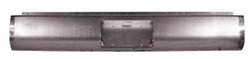 1997 to 2004 Nissan Frontier Fabricated  Rear Steel Rollpan with License