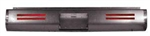 1987 to 1995 Nissan Hardbody Fabricated  Rear Steel Rollpan License and 4 LEDs