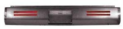 A 1987 to 1995 Nissan Hardbody Fabricated  Rear Steel Rollpan License and 4 LEDs