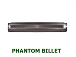 1987 to 1995 Nissan Hardbody Fabricated  Rear Steel Rollpan Smoothy with Phantom Billet