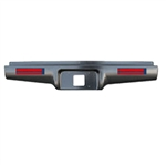 1982 to 1993 Chevrolet S10 S15 Rear Steel Rollpan Smoothy with 4 LEDs