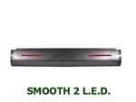 A 1982 to 1993 Chevrolet S10 S15 Rear Steel Rollpan Smoothy with 2 LEDs
