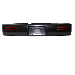 A 1994 to 2001 Dodge Ram 1500/2500/3500  Rear Steel Rollpan with License 4 LEDs