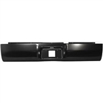 A 2002 to 2010 Dodge Ram 1500/2500/3500  Rear Steel Rollpan with License