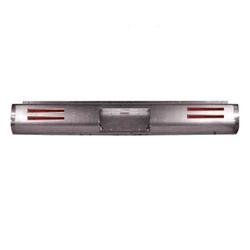 2002 to 2010 Dodge Ram 1500/2500/3500  Rear Steel Rollpan with License with 4 LEDs