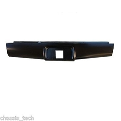 A 2004 to 2012 Chevrolet Colorado Canyon Rear Steel Rollpan with License