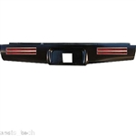 2004 to 2012 Chevrolet Colorado Canyon Rear Steel Rollpan with License and 4 LEDs