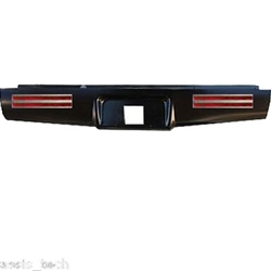 A 2004 to 2012 Chevrolet Colorado Canyon Rear Steel Rollpan with License and 4 LEDs