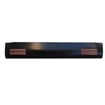 2004 to 2012 Chevrolet Colorado Canyon Rear Steel Rollpan Smoothy with 4 LEDs