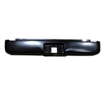 A 2004 to 2015 Ford F150 Rear Steel Rollpan with License