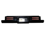 1988 to 1998 Chevrolet C1500/2500/3500 Stepside Steel Rollpan with License and 4 LEDs