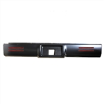 A 2007 to 2015 Chevy Silverado Rear Steel Rollpan License With 4 LED