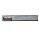 1983 TO 1993 Mazda Pickup Rear Steel Rollpan FABRICATED with License Straight Left
