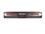 1987 TO 2003 Mitsubishi Mighty Max D50 Pickup Rear Steel Rollpan FABRICATED Smoothy with LEDs