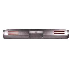 1993 TO 2003 Toyota T100 Rear Steel Rollpan FABRICATED with License & LEDs