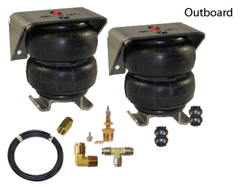 TOW-BASEKIT-OBK OUTBOARD #2500- Air Bags Brackets Fill Valves